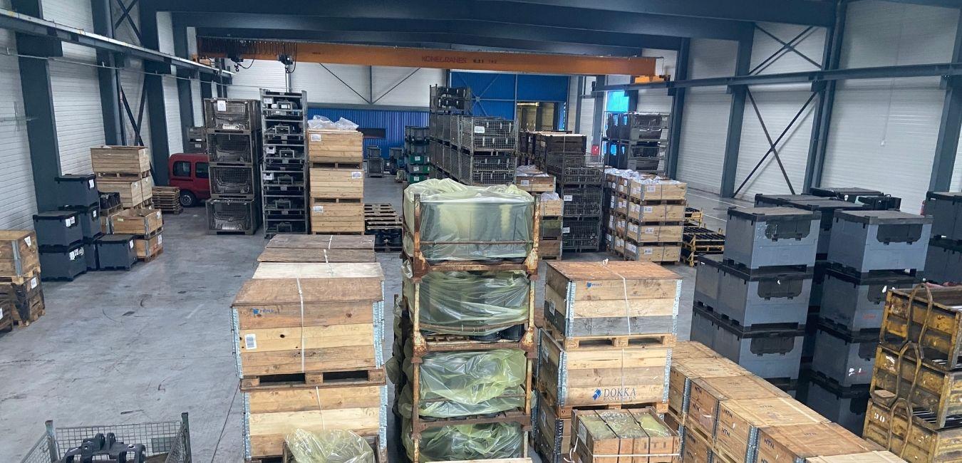 Zone stockage pour la logistique